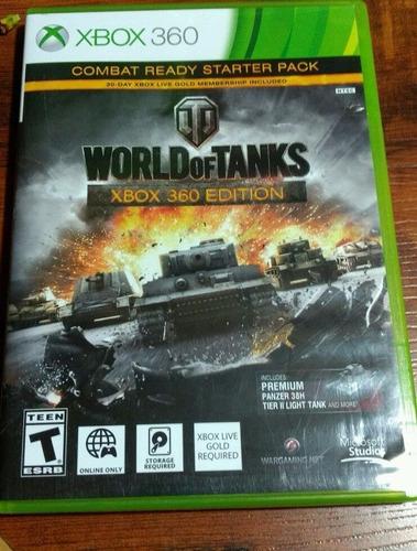 world of tanks xbox 360 + envio gratis