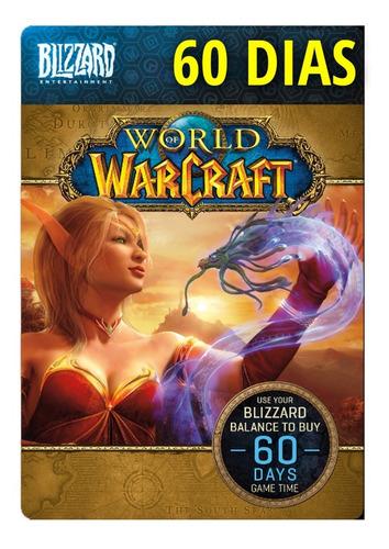 world of warcraft 60 dias tiempo de juego
