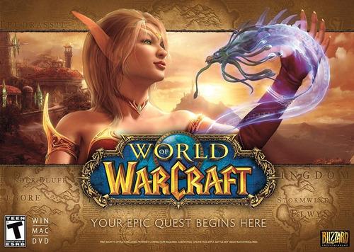 world of warcraft battlechest 5.0 epic quest inglés usa
