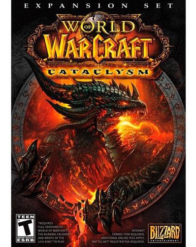 world of warcraft cataclysm expansion set pc