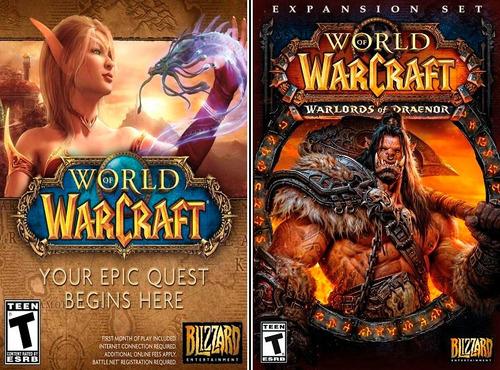 world of warcraft completo - incluye legion