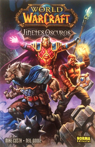 world of warcraft - jinetes oscuros - basado en juego de rol