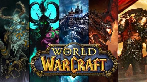 world of warcraft: legion + todas las expansiones