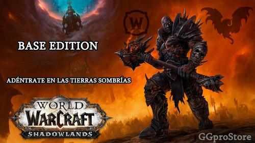 world of warcraft shadowlands expansión edición estándar