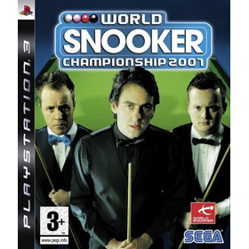World Snooker Championship 2007- Ps3- Para Colecionadores !