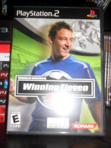 world soccer winning eleven 9 - como nuevo - completo - ps2