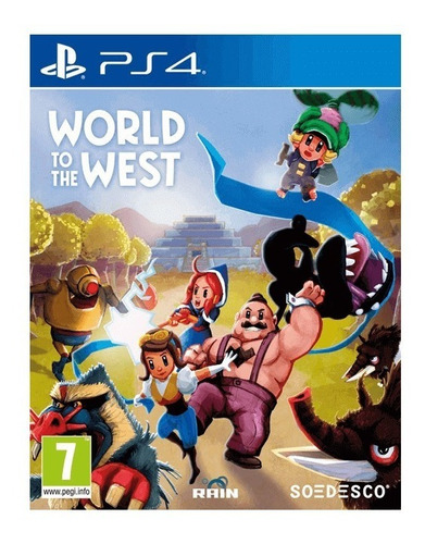 world to the west - físico ps4