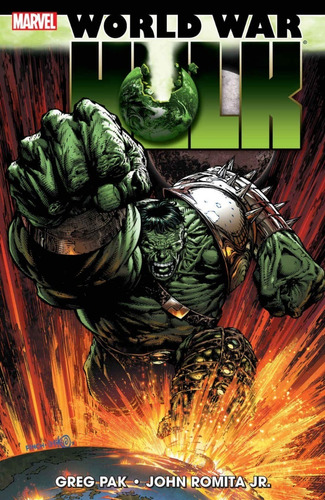 world war hulk tpb - marvel comics - robot negro