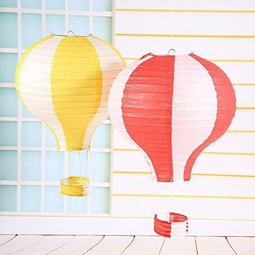 worldoor globo de aire caliente linterna de papel chino japo