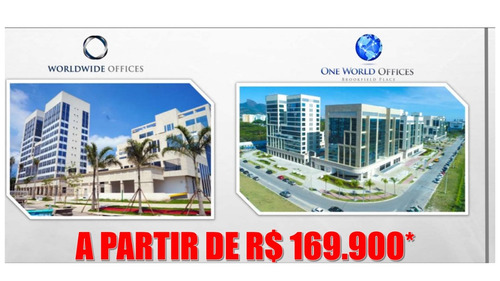 worldwide offices - barra - lojas, salas comercia