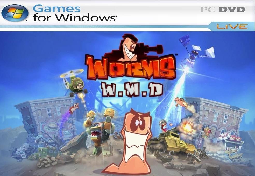 Worms Wmd Guerra 2018 Juego Para Pc Envio Gratis Digital 19 00
