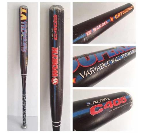 worth c405 vt 34x26 supercell softbol bat