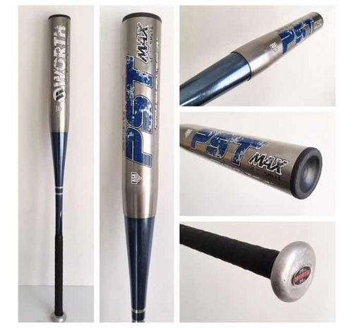 worth pst 34x28 vanadio softbol bat