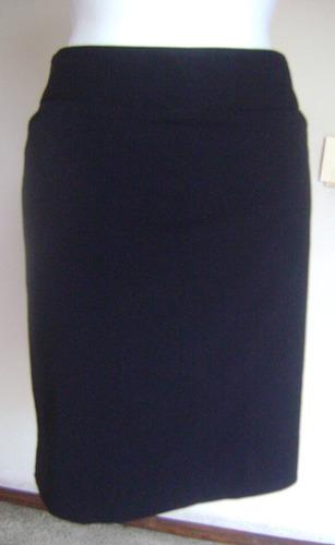 worthington talla-16p falda negra forrada!!  fach964