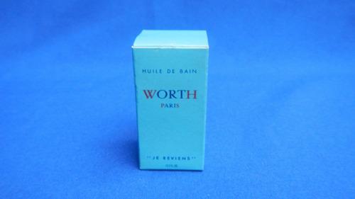 worth,perfume original,con caja , made in france.