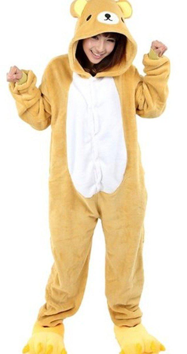 725ef1b3f0 wotogold animal cosplay traje de oso unisex adulto pijama ma. Cargando zoom.