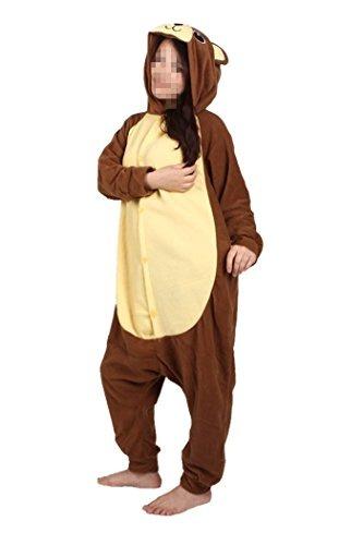 d96fe9d3b6 Wotogold Animal Del Traje De Cosplay Del Oso Pijamas Unisex ...