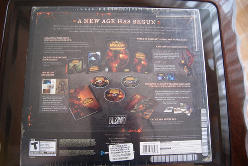 wow cataclysm collector edition
