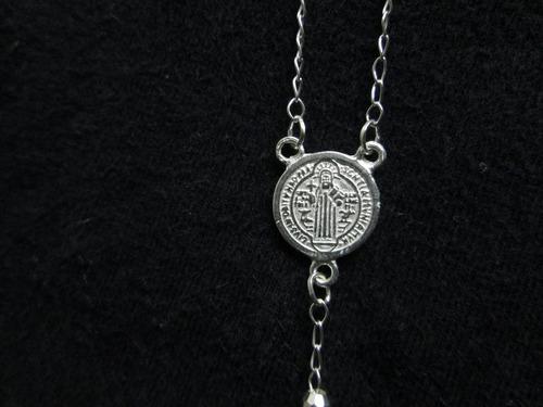 wow oferta rosario san benito plata ley 925 con envio gratis