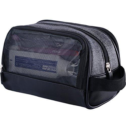 2bfbb47eb Wowbox Kit De Viaje Neceser Para Hombres Maquillaje A Prueba ...