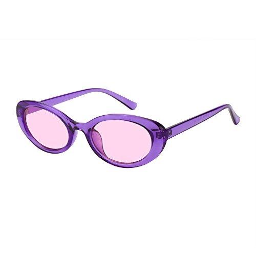 Para Mujeres Color Wowsun Pequeñas Gafas De Ovaladas Sol XwZikTOPu