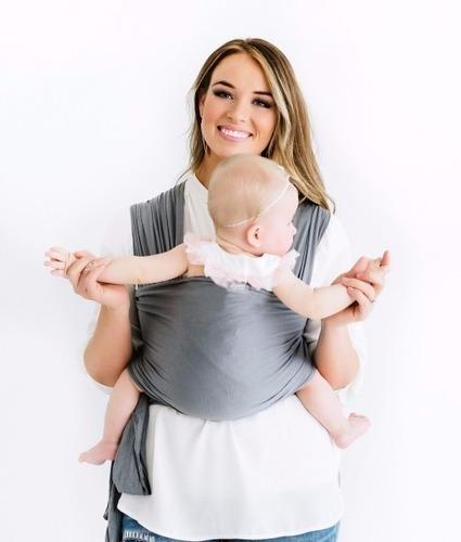 wrap sling canguru bebê