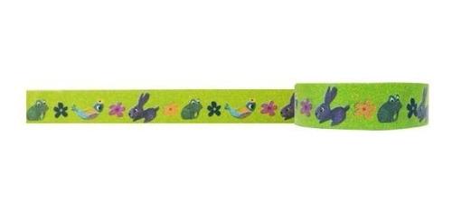 wrapables floral y naturaleza washi cinta adhesiva prado