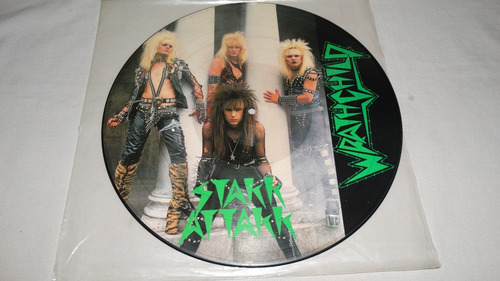 wrathchild - stakk attakk '84 (limited picture disc) (vinilo