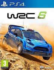 wrc 6 world rally championship ps4 fisico