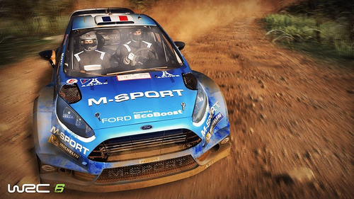 wrc 6 world rally championship - xbox one