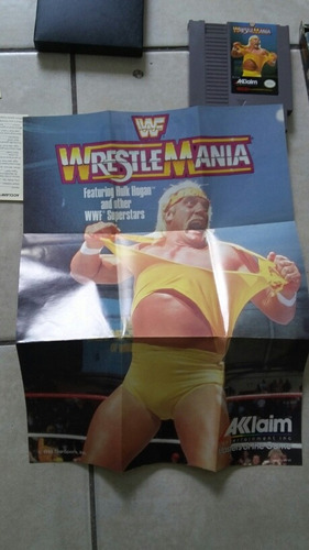 wrestle mania nintendo vintage