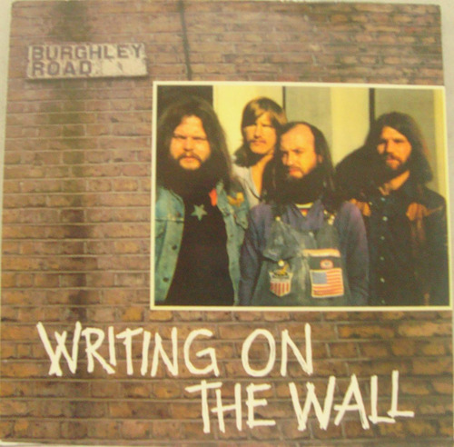 writing on the wall burghley road lp' 72