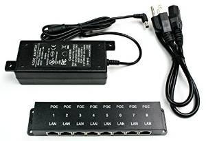 ws-poe-8-24v60w potencia pasiva 24v over ethernet inyector p