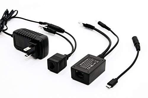 ws-poe-microusb-kit dropcam, android, tablet fuente de mando