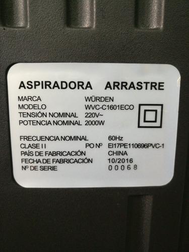 wurden aspiradora wvc-c1601eco  +