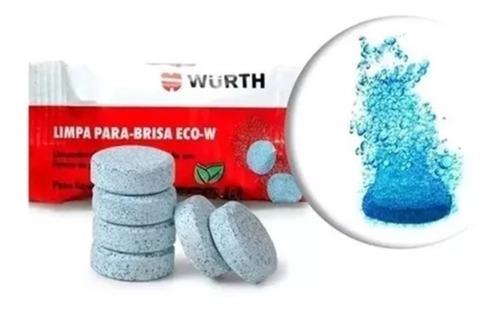 wurth limpa para-brisa 10 pastilhas eco-w efervescente carro