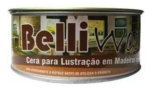 w&w cera em pasta belli wood 400g