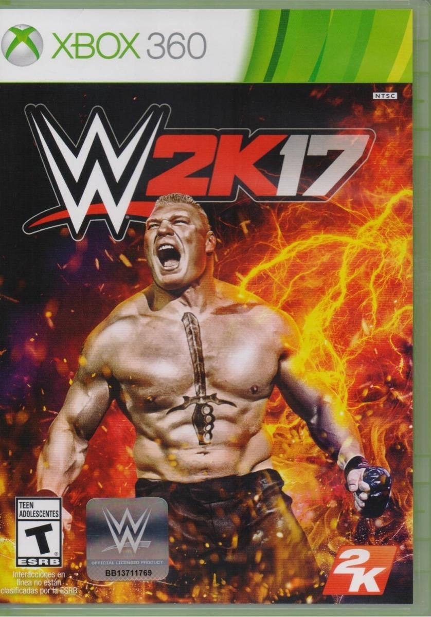 Wwe 2k17 Xbox 360 Juego Nuevo En Karzov 499 00 En Mercado Libre