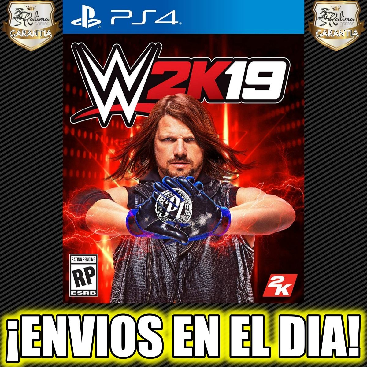 Wwe 2k19 Wwe 2019 Ps4 Playstation 4 Juego Digital 1 30 Off