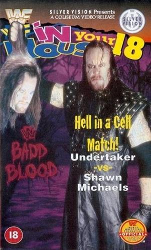 wwe badd blood in your house 18 1997 dvd inglés