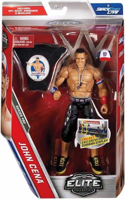 NEW MATTEL WWE ELITE COLLECTION WRESTLE MANIA JOHN CENA  ACTION FIGURE