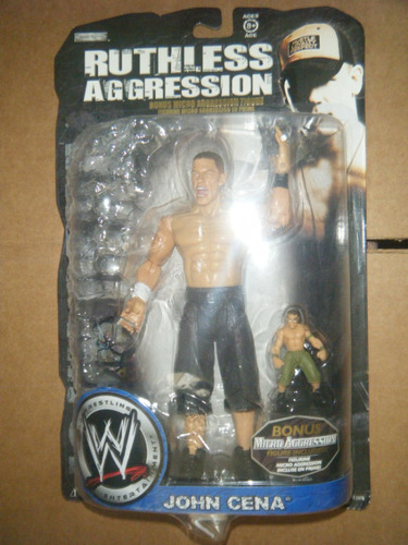 wwe john cena ruthless aggression (no mattel)
