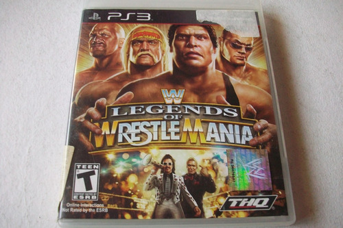 wwe  legends of wrestlemania para ps3