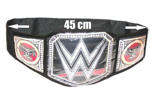 wwe lucha libre - cinturon mundial de peso pesado de wwe.