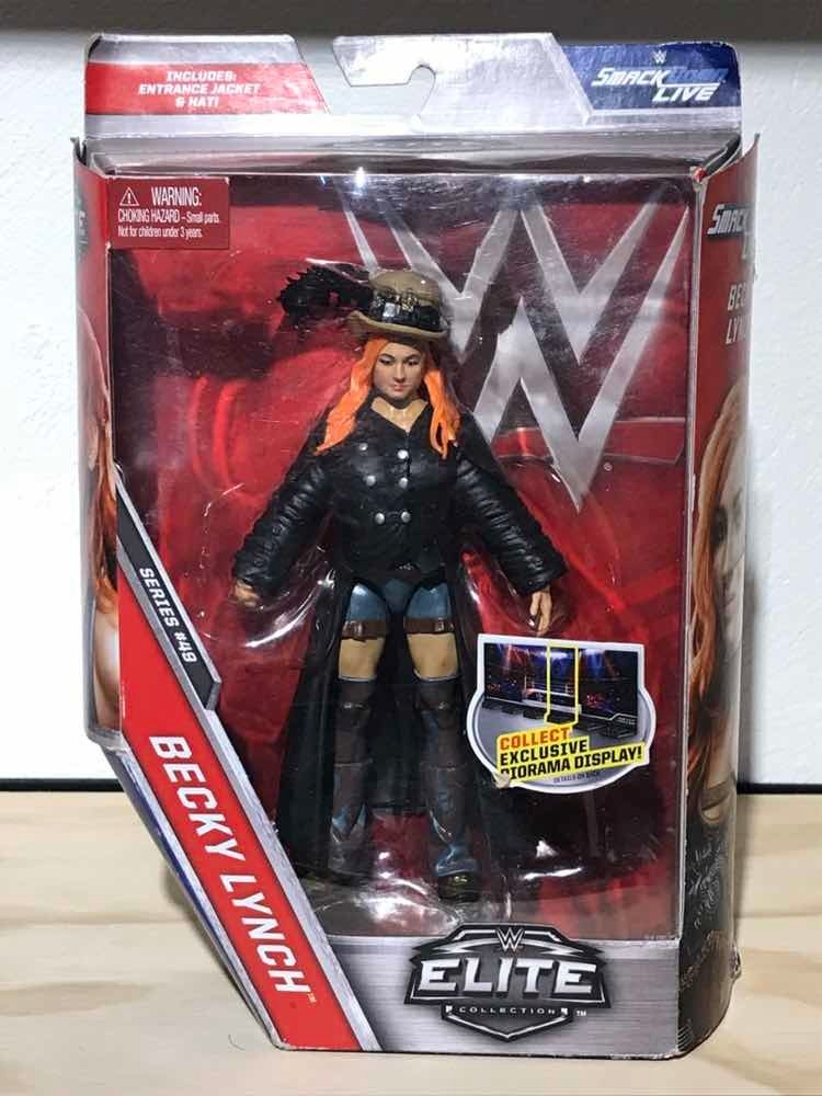 WWE Wrestling Elite Collection Series 49 Becky Lynch Action Figure The Man