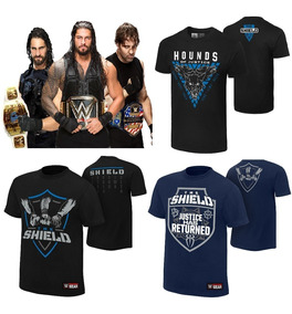Wwe Polos The Shield, Seth Rollins, Dean Ambrose, Aj Styles