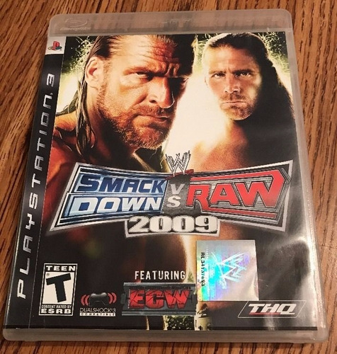 wwe smackdown vs raw 2009 ps3* play magic