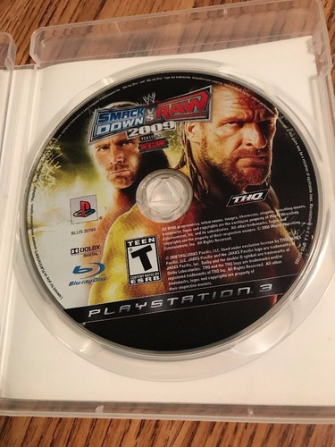 wwe smackdown vs raw 2009 ps3 play magic