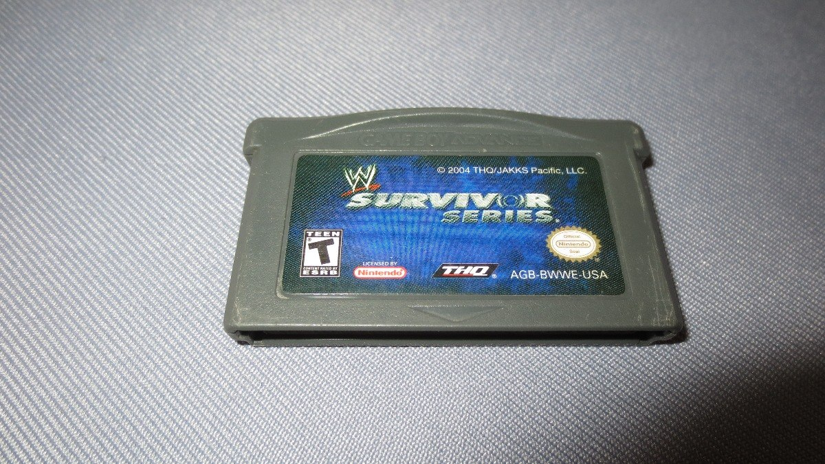 wwe survivor series gba