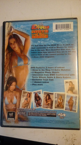 wwe wwf divas south of the border dvd lucha libre divas